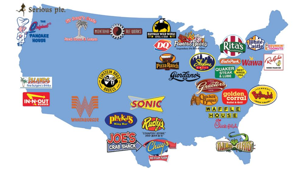 Foodie Heaven Local Regional Restaurants We Wished Would Expand: White Castle Location Map At Slyspyder.com