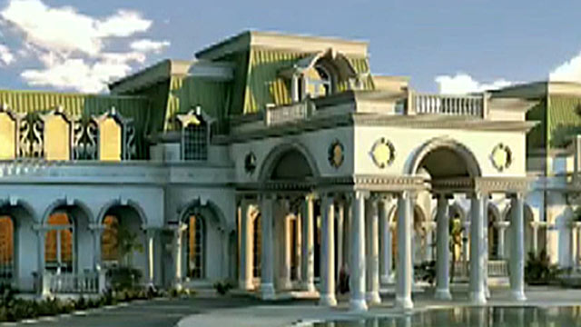 PHOTO: The American Versailles, if completed, will be, at 90,000 square feet, bigger than a 747 airplane hangar and will hold the distinction of the largest house in the United States.