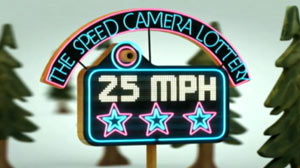 PHOTO Stop Speeding, Win the Lottery: One Mans Idea to Make Safe Driving Fun