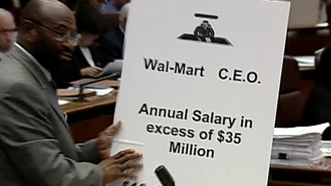 Video: Chicago prepares for a new Walmart after wage issues.