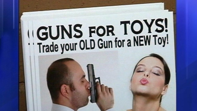 VIDEO: An adult novelty store in Alabama offers sex toys for guns.