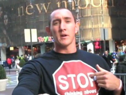 VIDEO: Jason Sadler makes money by selling ad space on his shirts.