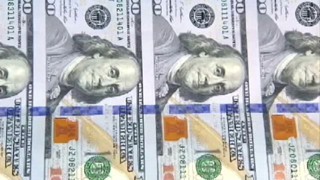 VIDEO: Federal Reserve inspection noticed a defect in some of the redesigned notes.
