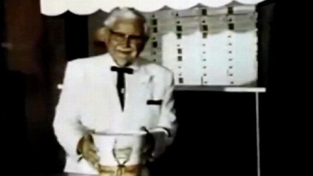 VIDEO: Manuscript written by KFC founder was discovered in the company archives.