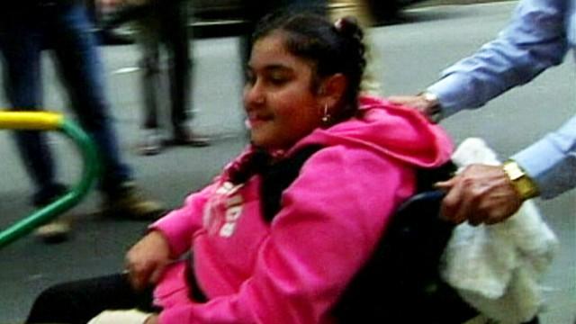 VIDEO: Monika Samaan contracted salmonella poisoning at the Australia restaurant.