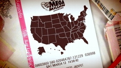 VIDEO: Mega Millions lottery jackpot hits $476 million.