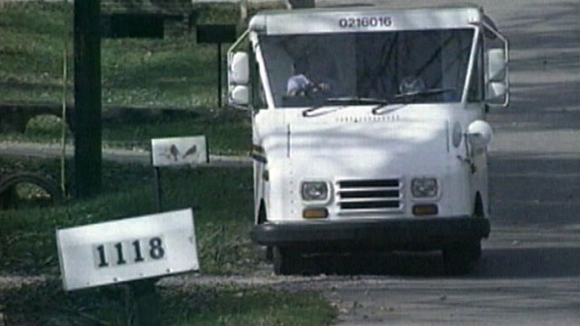 VIDEO: US Postal Service announces plan to end Saturday mail delivery.