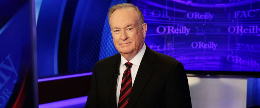 "PHOTO: Bill OReilly of ""The OReilly Factor"" on the Fox News Channel, Oct. 1, 2015, in New York."