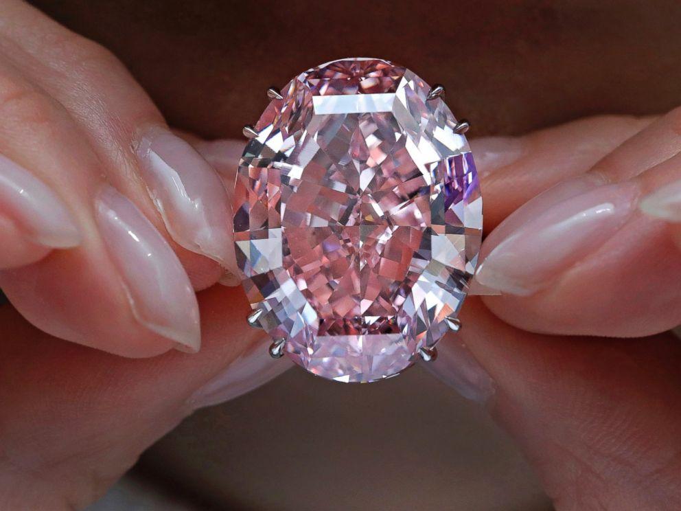 PHOTO: The Pink Star diamond.