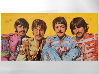 Signed Beatles Album Fetches $290.5K