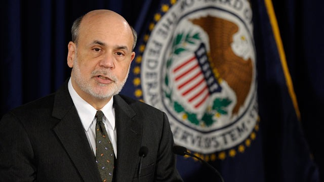 PHOTO: Federal Reserve Chairman Ben Bernanke speaks during a news conference in Washington, June 19, 2013.