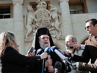 Cyprus May Get Divine Intervention