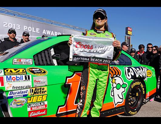 Danica Patrick Makes Nascar History