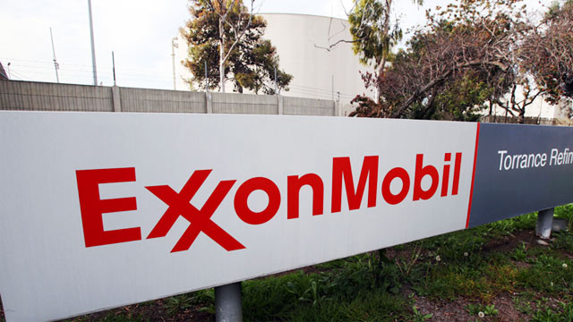 PHOTO: Exxon Mobil sign