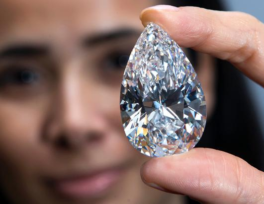 Largest D Color Flawless Diamond Ever Offered For Sale