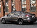 PHOTO: A 2013 Honda Civic is shown in Detroit, Nov. 27, 2012.