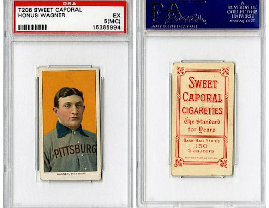 Honus Wagner Baseball Card Sells for $2 Million