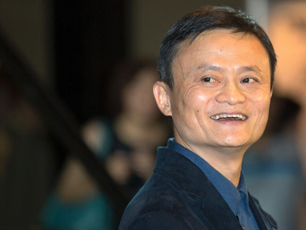 PHOTO: Alibaba Group founder and Executive Chairman Jack Ma smiles before an IPO road show at a hotel in Hong Kong, Sept. 15, 2014.