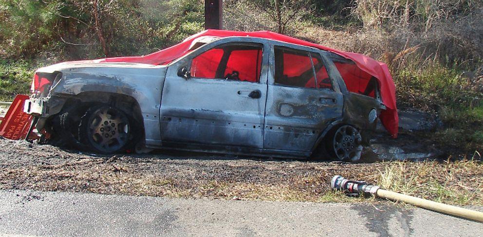 PHOTO: Scene of Jeep Cherokee accident