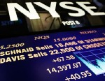 PHOTO: New York Stock Exchange board