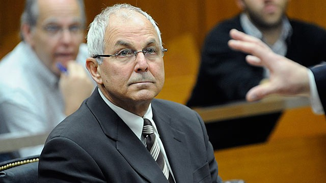 PHOTO: Peter Madoff, brother of Bernard Madoff, attends his court hearing before judge Stephen Bucaria at Mineola State Supreme Court, in Mineola, N.Y., in this April 3, 2009 file photo.