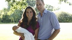 PHOTO: The Duke and Duchess of Cambridge 2013. This Seraphine pink fuchsia maternity dress sold out after this photo was released.