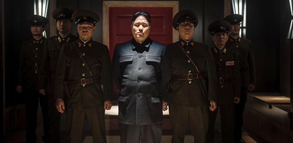 PHOTO: Randall Park portrays North Korean leader Kim Jong Un in Columbia Pictures The Interview in this undated photo provided by Columbia Pictures - Sony.