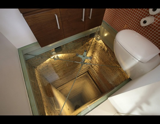 World's Scariest Toilet: Hangs Over 15-Story Elevator Shaft