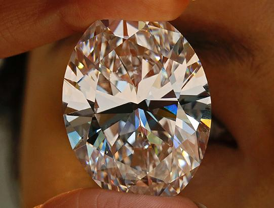 World's Largest White Diamond Up for Auction