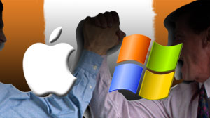 When consumers have to choose sides in tech battles -- like Apple vs. Microsoft -- they dont always win.