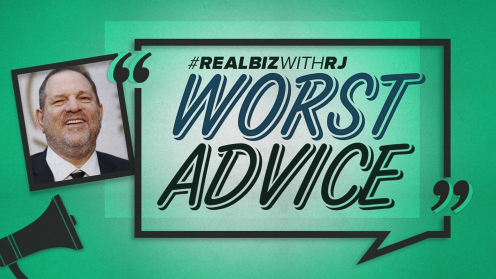 VIDEO: Worst Advice: Harvey Weinstein