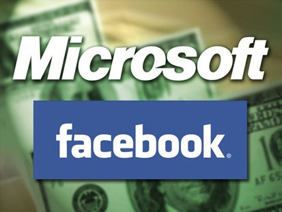 Facebook Microsoft