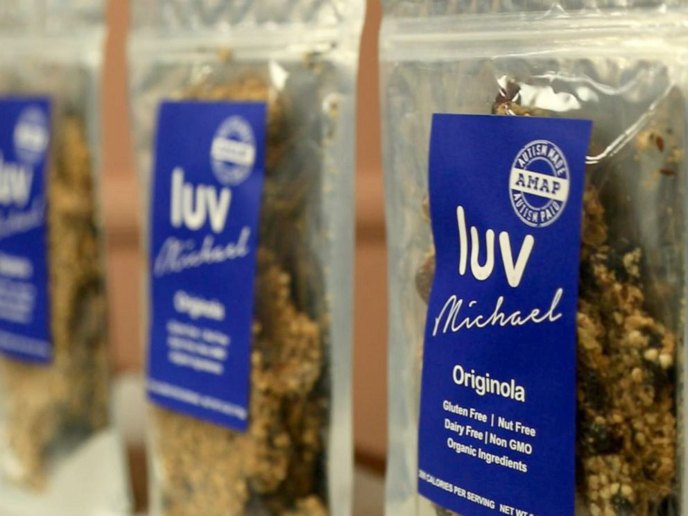 PHOTO: Luv Michael granola is seen here. It is sold in more than 60 stores on the East Coast.