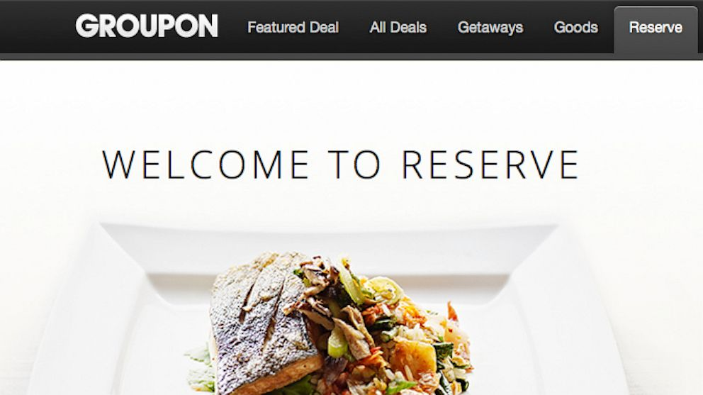 PHOTO: Groupon Reserve