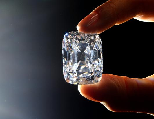 All-Diamond Ring Valued at $70 Million