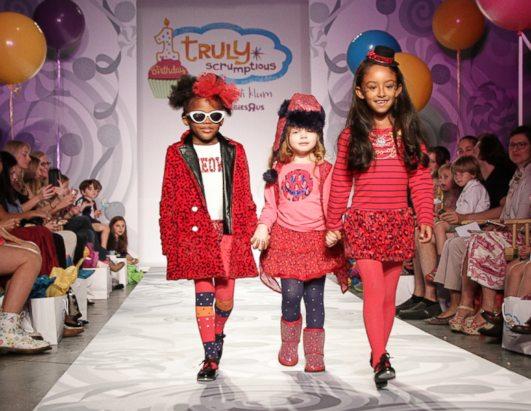 Heidi Klum Presents Children's Clothing Line Photos - ABC News