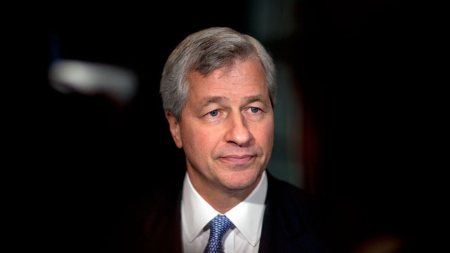 PHOTO: JPMorgan Chase CEO Jamie Dimon
