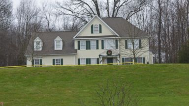 PHOTO: A general view of the house where suspected gunman Adam Lanza lived with his mother, Nancy in Sandy Hook near Newtown, Dec. 17, 2012, in Connecticut.