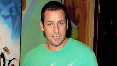 "PHOTO: Actor Adam Sandler arrives at the premiere of Walt Disney Studios' ""The Lion King 3D"" at the El Capitan Theater on Aug. 27, 2011 in Los Angeles, California."