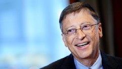 Bill Gates, chairman of Microsoft, is shown during an interview, Jan. 30, 2013 in New York.PHOTO: