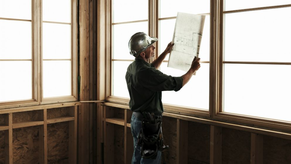 PHOTO: A contractor is seen in this undated stock photo.