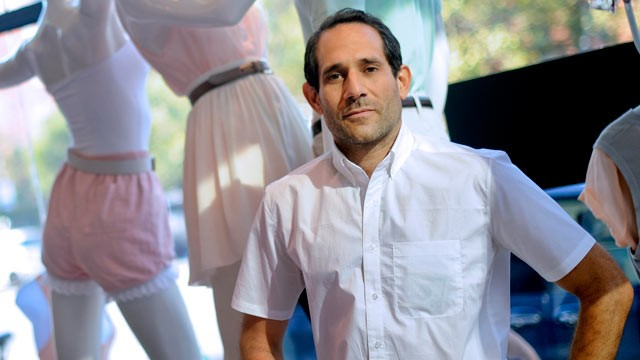 PHOTO: Dov Charney, chairman and chief executive officer of American Apparel Inc., stands for a portrait in a company retail store in New York on July 29, 2010.