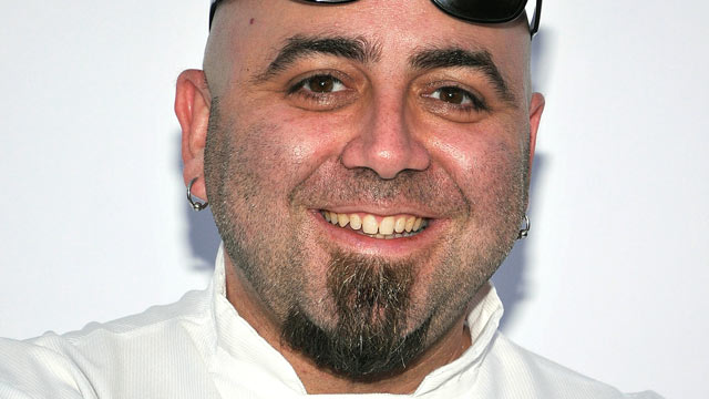 PHOTO: Celebrity chef Duff Goldman arrives at the opening night gala for the Los Angeles Food & Wine Festival at Nokia Plaza L.A. LIVE, Aug. 9, 2012 in Los Angeles, Calif.