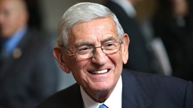 PHOTO: Philanthropist Eli Broad attends a ceremony where the Broad Prize for Urban Education was awarded Miami-Dade County Public Schools, Oct. 23, 2012 in New York City.