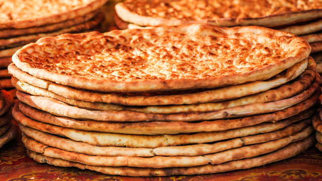 PHOTO: Flatbreads contain brominated flour.