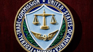 PHOTO: The logo of the U.S. Federal Trade Commission is seen in Washington, D.C.,  Aug. 4, 2010.
