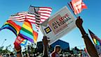 PHOTO: Same-sex marriage supporters celebrate the Supreme Courts ruling on the Defense of Marriage Act, June 26, 2013 in West Hollywood, Calif.