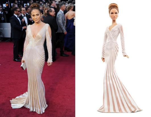 Mattel is releasing a limited edition Jennifer Lopez Barbie