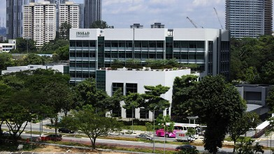 PHOTO: The Asia campus of Insead stands in Singapore, Dec. 6, 2010.