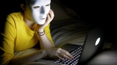 PHOTO: Lying about your identity online can be good protection against hackers.
